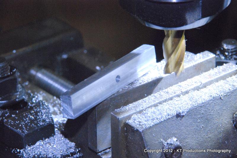 Face milling aluminium on the Sieg SX2